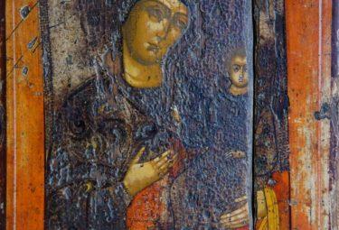 Ж-648 КП 10169 Икона Богоматерь Одигитрия Смоленская