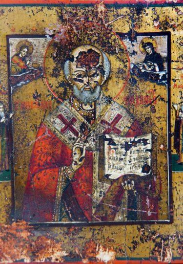 Ж-1007 КП-11182 Икона Николай Чудотворец