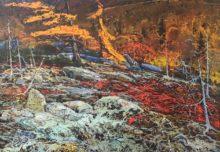 Федотов А.М., 1919-1985 гг. Осень в Приамурье, 1975. Хабаровск.