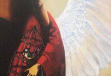 Пилипенко А.В., 1964 г.р.. Ангел с клеткой, 2003. Магадан.